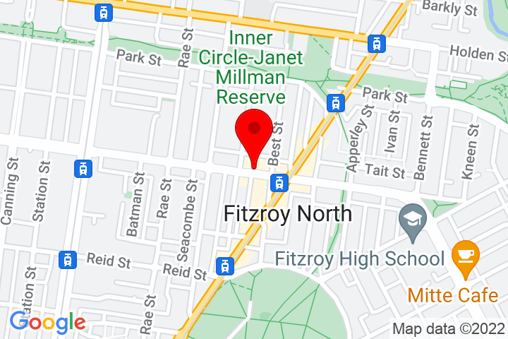 Map of 113-115+Scotchmer+Street,+Fitzroy+North+3068