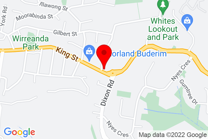 Map of 137+King+Street,+Buderim+QLD+4556