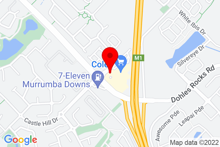 Map of 2+Goodrich+Rd+W,+Shop+22+&+23+Murrumba+Downs+Shopping+Centre,+Murrumba+Downs+QLD+4503