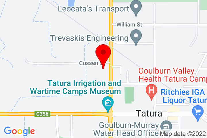 Map of 29+Ross+St,+Tatura+VIC+3616+