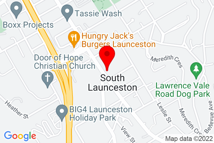 Map of 351+Wellington+Street,+South+Launceston,+7249+TAS