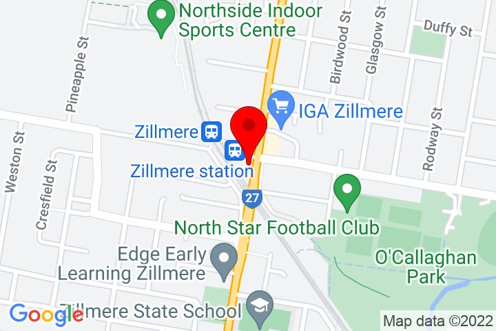 Map of 422+Zillmere+Road,+Zillmere+QLD+4034