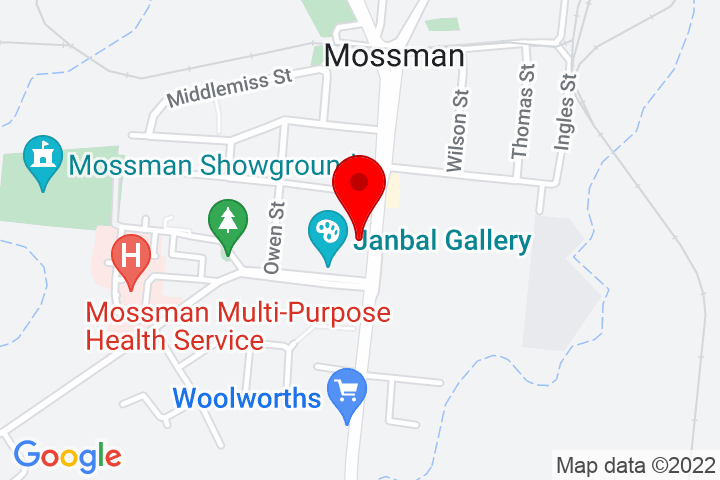 Map of 47+Front+Street,+Mossman,+4873+QLD