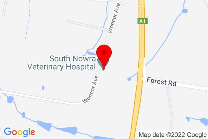 Map of 55+Woncor+Ave,+South+Nowra,+NSW+2540
