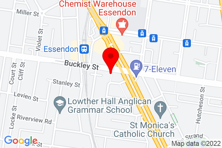 Map of 89+Buckley+Street,+Essendon+3040