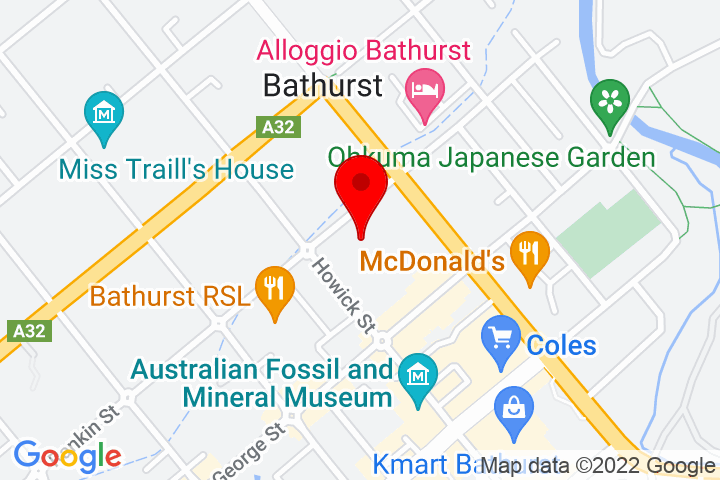 Map of 90+Rankin+Street,+Bathurst+NSW+2795