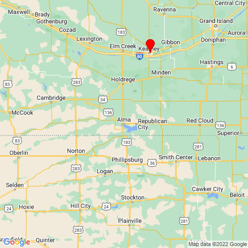 Map of Alma, NE