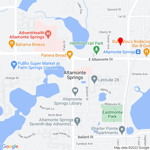 Map of Altamonte Springs, FL