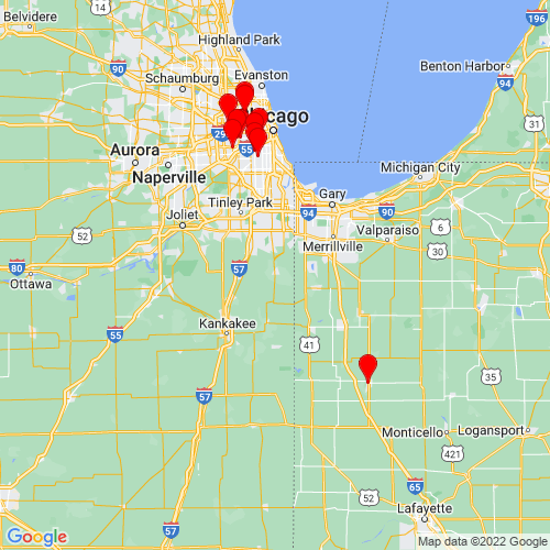 Map of Beecher, IL