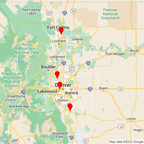 Map of Brighton, CO