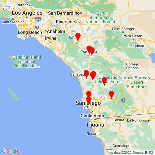 Map of Carlsbad, CA