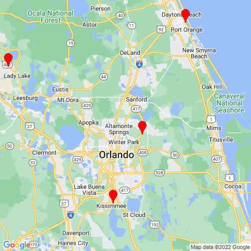 Map of Casselberry, FL