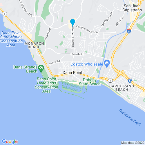 Map of Dana Point, CA