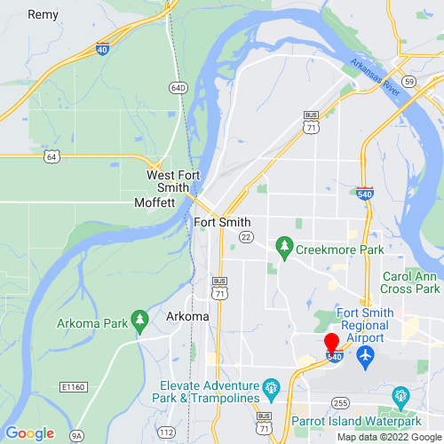 Map of Fort Smith, AR