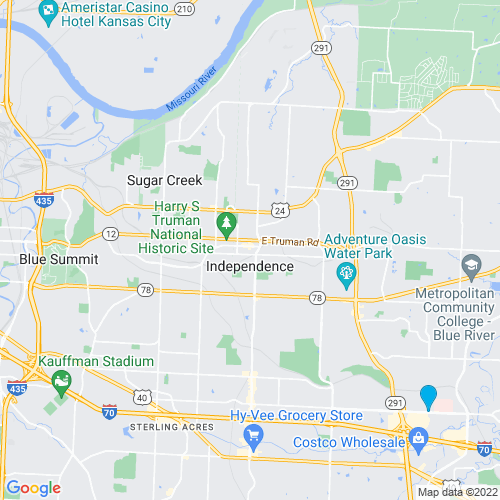 Map of Independence, MO