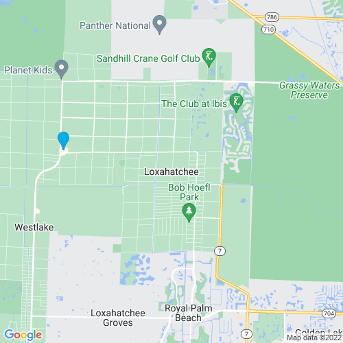 Map of Loxahatchee, FL