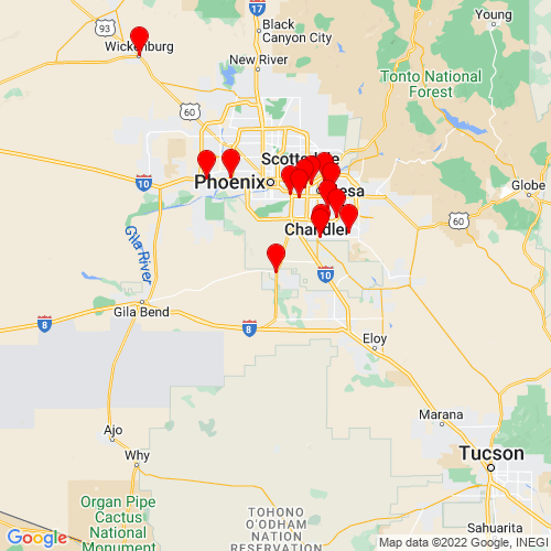 Map of Maricopa, AZ