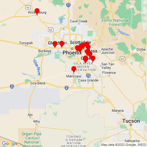 Map of Maricopa, AZ