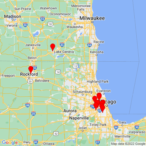 Map of Mchenry, IL