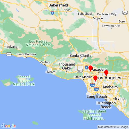 Map of Moorpark, CA