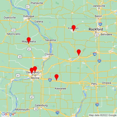 Map of Morrison, IL
