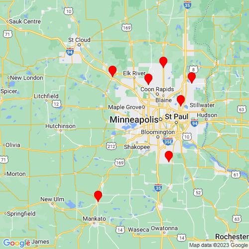 Map of Mound, MN