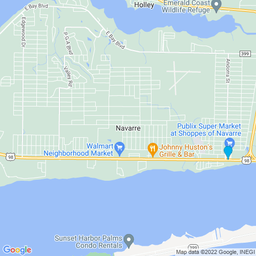 Map of Navarre, FL