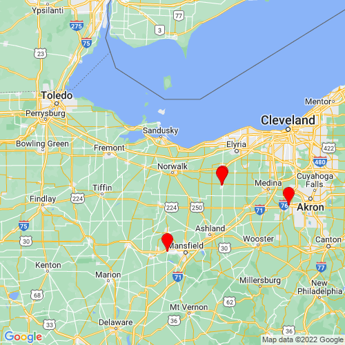 Map of Norwalk, OH