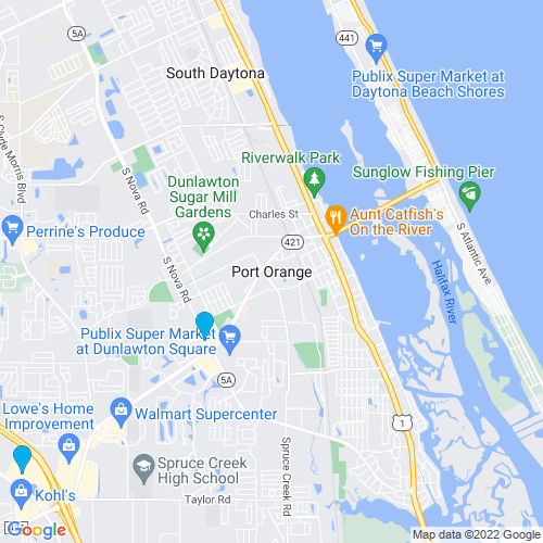 Map of Port Orange, FL