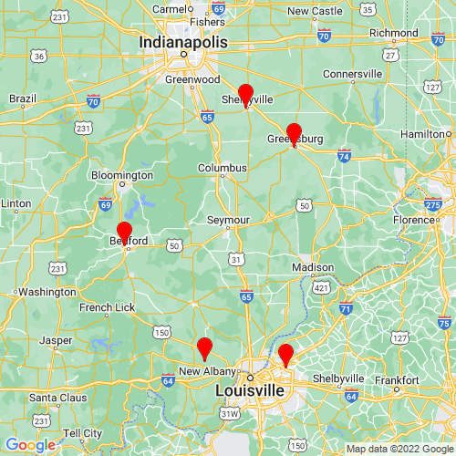 Map of Seymour, IN