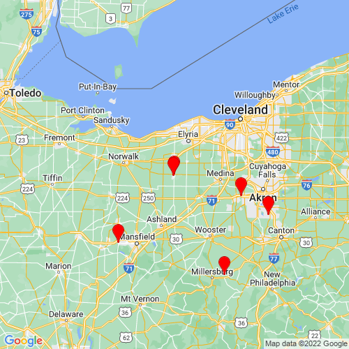 Map of Wellington, OH