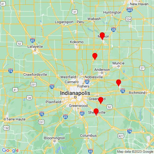 Map of Westfield, IN