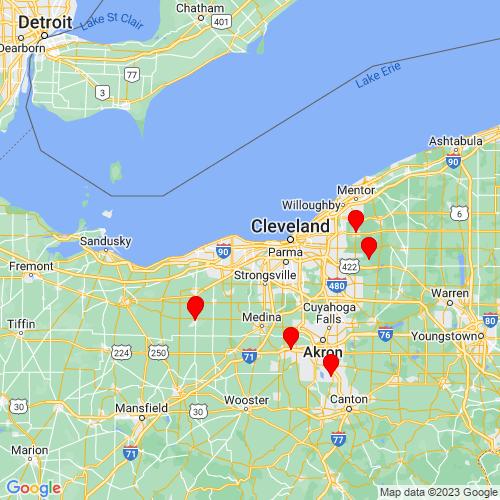 Map of Westlake, OH