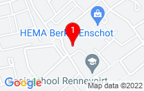 Google Map of Conservatoriumlaan 60, Tilburg