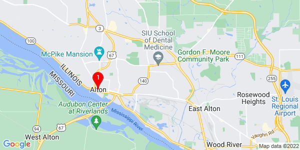 Google Map of Alton, IL