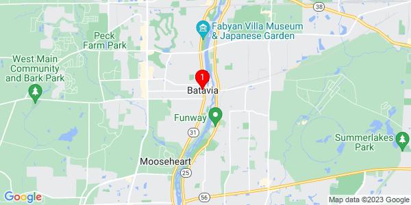 Google Map of Batavia, IL