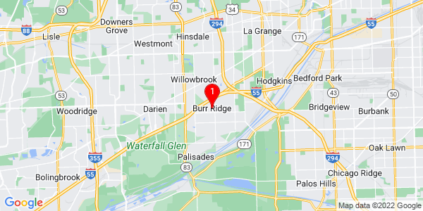 Google Map of Burr Ridge, IL