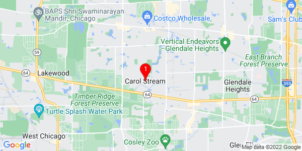 Google Map of Carol Stream, IL