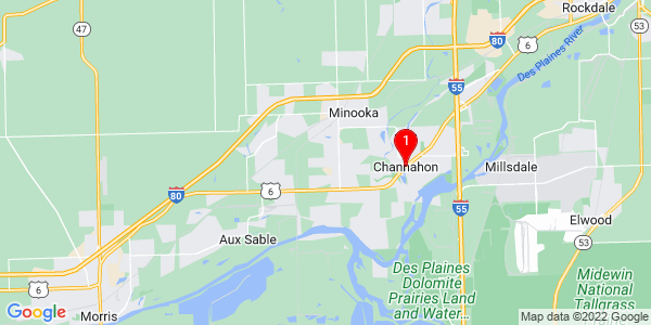 Google Map of Channahon, IL
