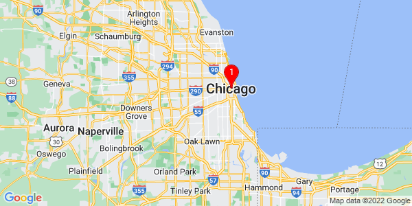 Google Map of Chicago, IL