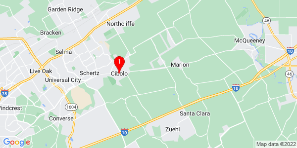 Google Map of Cibolo, TX
