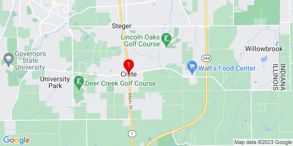 Google Map of Crete, IL