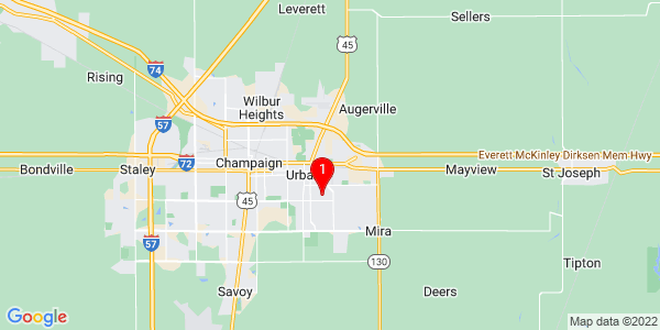 Google Map of Cunningham, IL