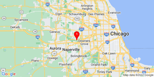 Google Map of Du Page, IL