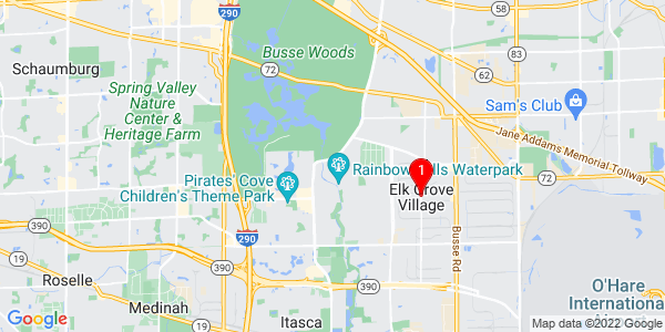 Google Map of Elk Grove Village, IL