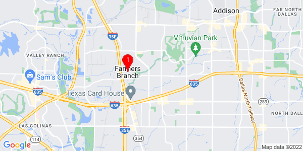 Google Map of Farmers Branch, TX