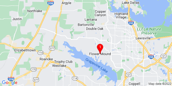 Google Map of Flower Mound, TX