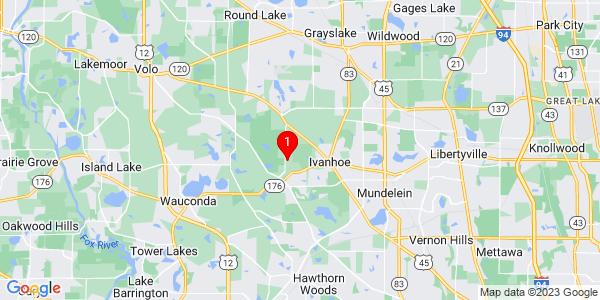 Google Map of Fremont, IL