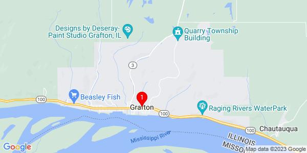 Google Map of Grafton, IL
