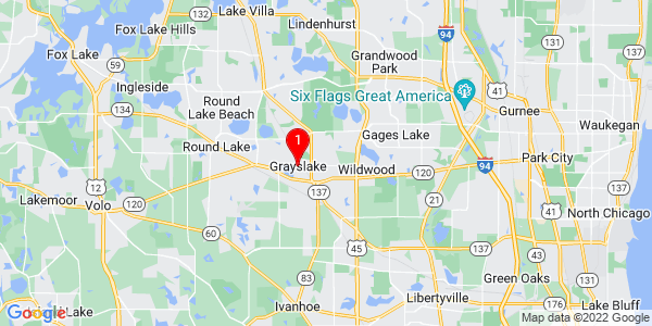 Google Map of Grayslake, IL